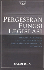 Buku Pergeseran Fungsi Legislasi